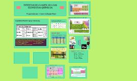 Intentos de la clasificacion de la tabla periodica by kattia copy of primeros intentos de clasificar urtaz Image collections
