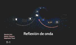 Reflexion de onda
