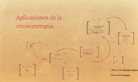 Aplicaciones de la musicoterapia.