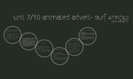 animated advert presentation surf