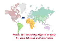 The Democratic Republic of the Congo (DR Congo)