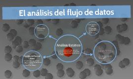 El análisis del flujo de datos