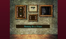 Mentally Ill v.s Prison