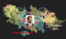 Maysa - Robert Downey Jr.