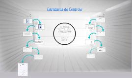 Estruturas de controlo