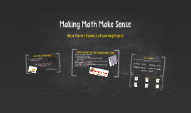 Making Math Make Sense