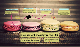 Causes of Obesity in U.S.