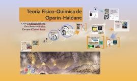 Copy of Teoria Fisico-Quimica de Oparin-Haldane