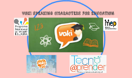 VOKI SPEAKING CHARACTERS FOR EDUCATION