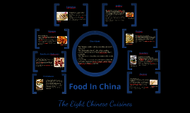 Food in China Notes
