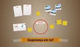 Segurança em IoT