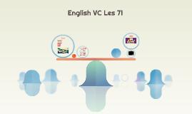 English VC Les 71