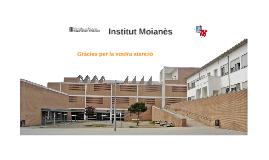 El batxillerat a l'Institut Moianès