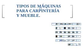 Copy of Copy of TIPOS DE MOBILIARIO SEGÚN SU FUNCIÓN