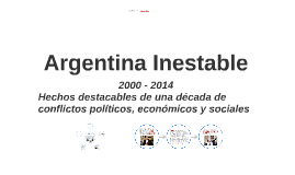 Argentina inestable