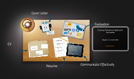 Writing Professional Application Documens