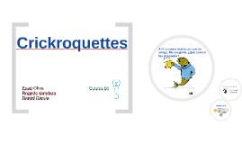 Crickroquettes