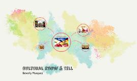 cultural show & tell