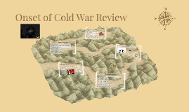 Onset of Cold War Review