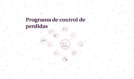 Copy of Programa de control de perdidas