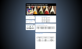 Carry out measurements and calculations in a required task