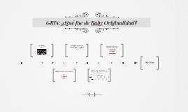 GRIS: ¿Qué fue de Baby Originalidad?