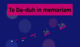 da duh Lyrics to 'duh duh duh' by south park.