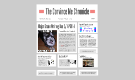 The Convince Me Chronicle