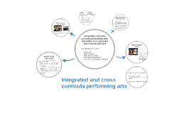 Integrated and cross curricula arts