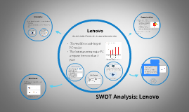 swot analysis of hp lenovo and A swot analysis of lenovo - strengths, weaknesses, opportunities and threats of the largest pc maker of the world more on lenovo's performance.