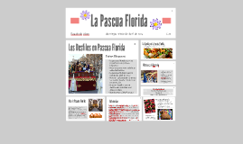 Copy of La Pascua Florida