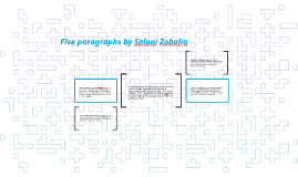 Copy of Five paragraphs by Saloni Zobalia