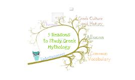 Copy of Mythology Matters