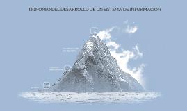 Copy of TRINOMIO DEL DESARROLLO DE UN SISTEMA DE INFORMACION