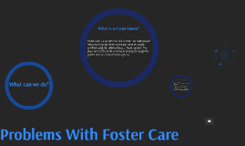 Problems With Foster Care