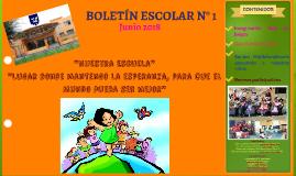 Boletín Escolar Esc. Andrés Bello