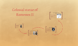 Colossal statue of Ramesses II