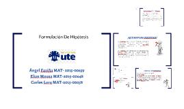 Copia de Copy of FORMULACION DE HIPOTESIS Y DEFINICION DE VARIABLES