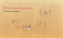 HUMA 1400 Presentation