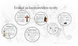Erakot ja luostareiden synty