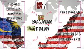 Copy of MALAYAN UNION