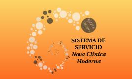 SISTEMA DE SERVICIO