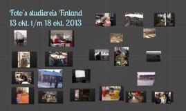 Foto's studiereis Finland