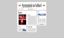 Pyrotechnik im Fußball