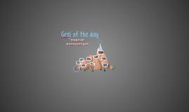Grej of the day - Samer