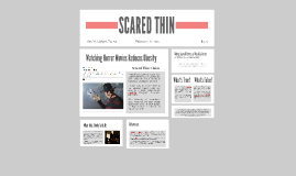 SCARED THIN