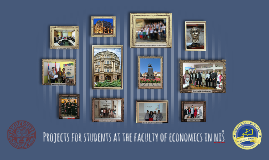 Projects at the EKNFAK