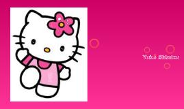 Ikuo Shimizu- creator of hello kitty