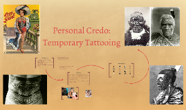 Personal Credo: Temporary Tattooing