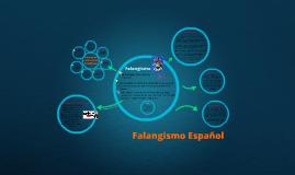 Falangismo Español